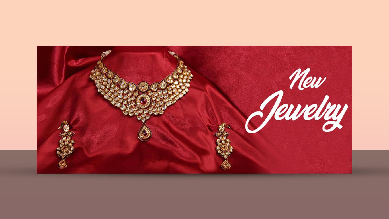 jewellery banner design