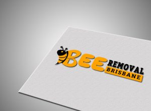 honey-bee logo design