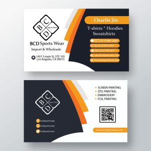 business visiting card designs